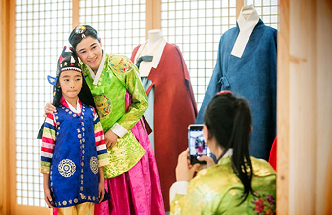 Experience of Korean Traditional Culture for Foreigners 02